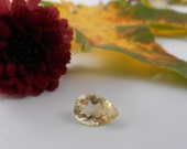 1.74 ct Drop Cut Citrine Faceted Gem