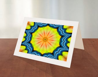 Original Art Greeting Card 6-Pkg of 6 Cards With Envelopes-Abstract Art Card-Any Occasion Card-Everyday Card-Collector Art Cards