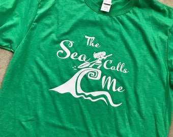 The Sea Calls Me Moana Tee