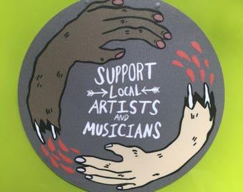 Support Local Sticker