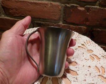 Loch Tollenaar & Co Pewter Cup, Vintage Pewter Cup, Rare pewter cup, Vintage Pewter, Holland Pewter, Morethebuckles