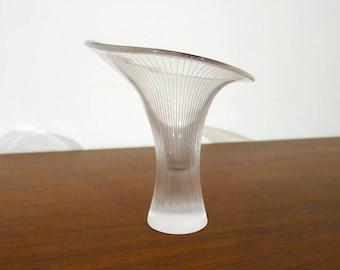 Vintage Tapio Wirkkala Kantarelli Vase by Iittala, Finland