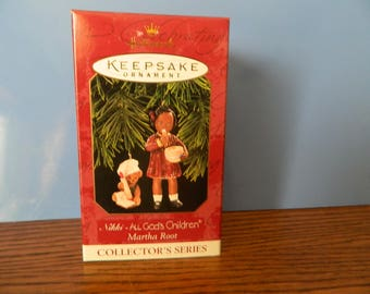 "Hallmark Keepsake All God's Children ""Nikki"" Ornament"
