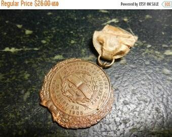 Summer Sale Vintage German Music Club Golden Jubilee Syracuse Medal 1905