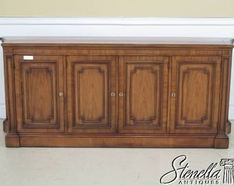 42499E: KINDEL French Louis XVI Walnut Finish Sideboard Credenza