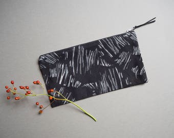 """Printed Pouch """"Shards"""""""