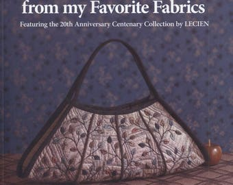 Yoko Saito's Quilts and Projects from My Favorite Fabrics - Japanese Craft Book - Applique Patterns - Quilt Patterns - ebook Digital