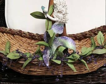 "Medium Mermaid basket ""New"""