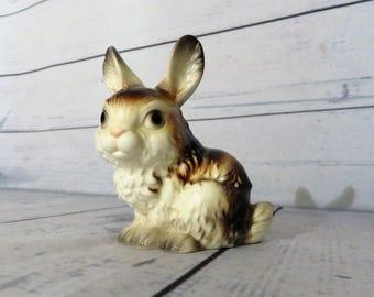 Goebel Germany Rabbit,  Goebel bunny figurine, Collectable Goebel Germany, Bunny Figurine, Rabbit Decor, Handpainted Porcelain Figurine