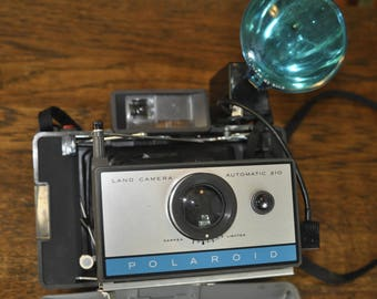 Old Polaroid 210 Camera