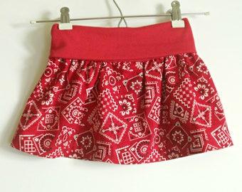 Bandana Skirt Etsy