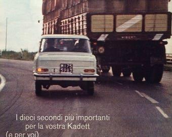 OPEL Kadett original ADV 1964