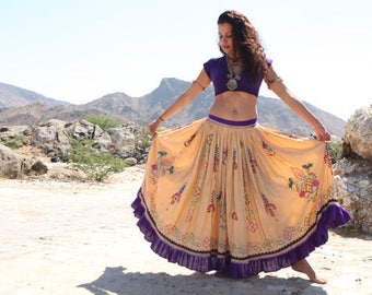 tribal fusion belly dance top/dance top/cholli/dance clothing/purple/red/black/green/brown/white