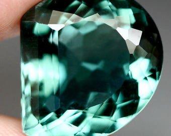 Exciting Natural Quartz : 24.02 Carat IF 18.2 X 19.2 X 10.8 mm