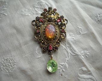 Sarah Coventry 'Contessa' Brooch/Pendant Baroque/Victorian Revival Style