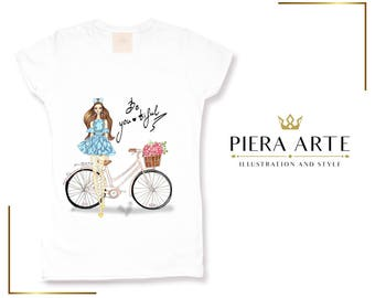 White stylish Fashion T shirt - Trendy tshirt for bloggers -Designer T-shirt - Be you