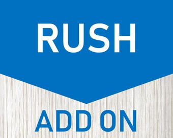 Add-on : 1-Day Rush Processing