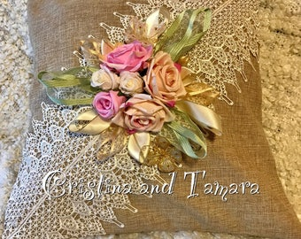 Roses and lace shabby chic