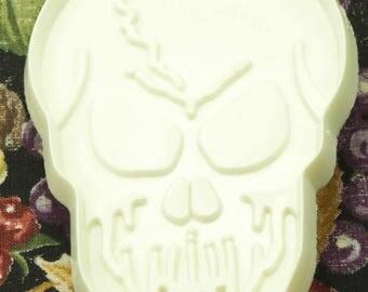 1980 Hallmark White Halloween Skull Plastic Cookie Cutter