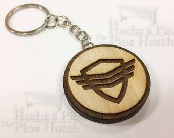 Key ring inspired by the The Orville series: The Security Patch