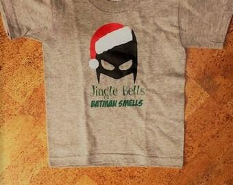 Jingle Bells Batman Smells Christmas Tshirt