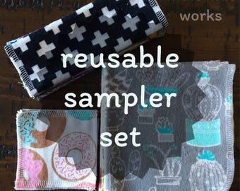 Reusable sampler set