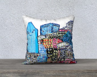 Montreal Pillow Case - Essentially Melanie Bernard pillow cover