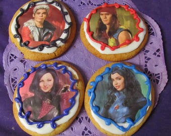 Descendant Villians sugar cookies