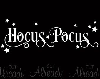 Hocus Pocus SVG - Onsie -Hocus Pocus Tshirt - Digital Cut File