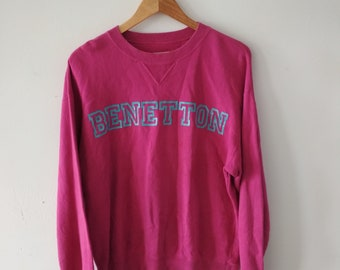 Rare Vintage United Colors Of BENETTON Sweatshirt Size M