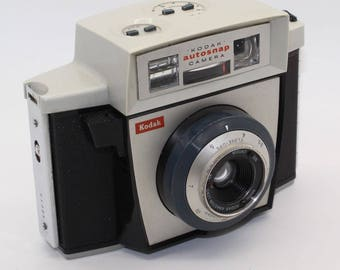Kodak Autosnap 127 Film Camera with case and working metering – Very good condition and tested - 1960's Classic - Lomography