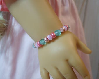 Pastel Easter Bracelet for American Girl and other 18 inch dolls