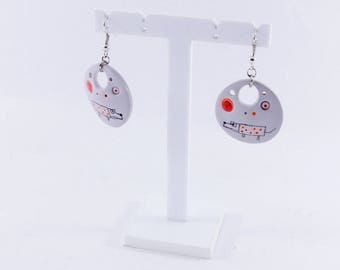 dog earrings - squiggle collection