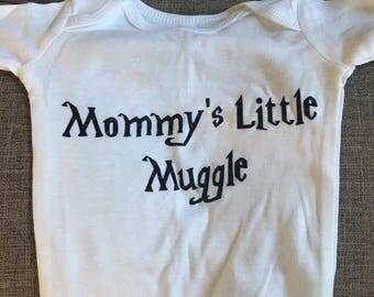 Mommy's Little Muggle - Harry Potter Baby Onesie