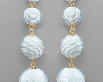 Periwinkle BonBon Drop Earrings