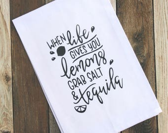 When Life Gives You Lemons-Kitchen Towel