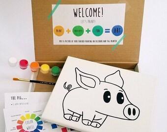 Pig Paint Kit
