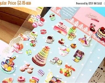 30% OFF ENTIRE STORE Beautiful Macaroon Stickers