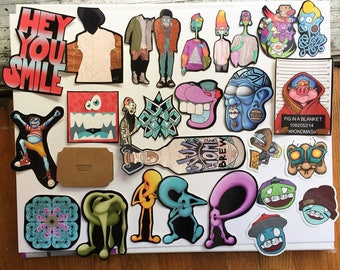 Random Sticker Pack (5 or 10)