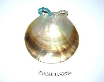 Mother of Pearl disc 2 - 2 holes - D.60 for CREATION