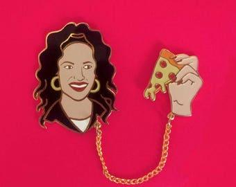 Pizza Party Selena Pin