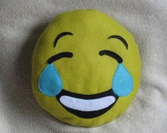 """""""Smile"""" to 25cm round cushion"""