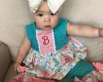 Ruffle Headband- Ivory Ruffle Headband- Ivory Headband- Ivory Ruffles- Headband- Large Bow Headband- Bow- Headband -Knit Headband