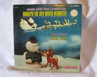 Rudolph The Red Nosed Reindeer- Soundtrack from VideoCraft Tv Special featuring Burl Ives