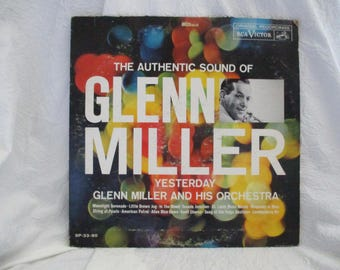 The Authentic Sound of Glenn Miller Album Record LP
