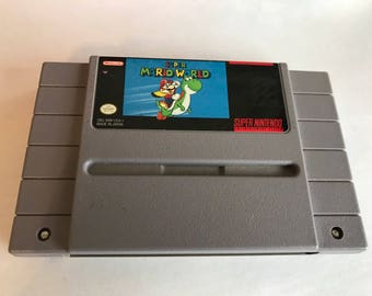 Super Mario World Video Game for Super Nintendo SNES