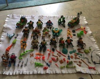 Set of Ninja turtles vintage