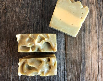 Lavender and Lemongrass Goat Milk Soap