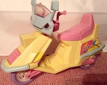 Barbie Doll Size Scooter ~ VINTAGE!
