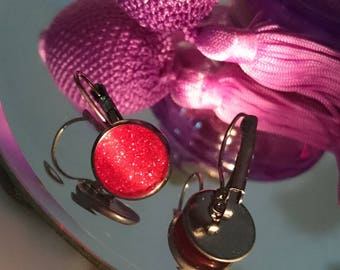 My fire Leverback EARRINGS